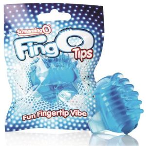 Screaming O FingO Tips - Blue
