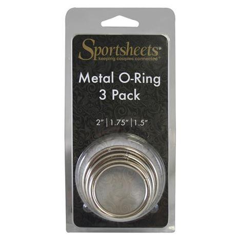 Sportsheets Metal O-Ring 3 Pack