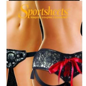 Sportsheets Platinum Lace Corset Strap On