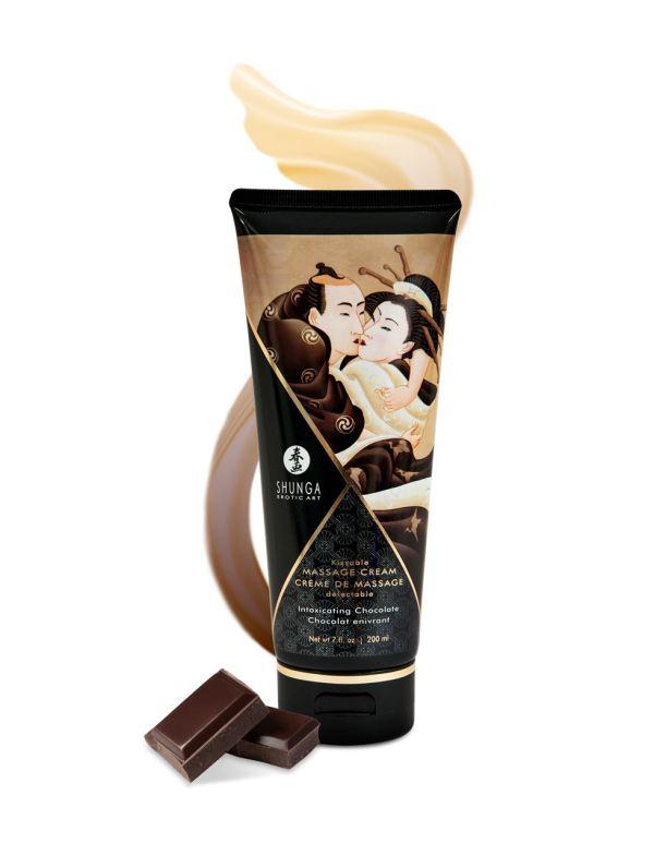 Shunga Kissable Massage Creams 200ml/7fl.oz - Intoxicating Chocolate
