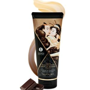 Shunga Kissable Massage Creams 200ml/7fl.oz - Intoxicating Chocolate