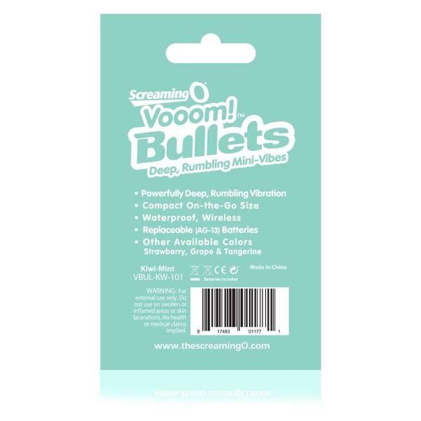 Screaming O Vooom Bullets - Kiwi Mint