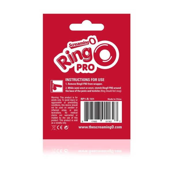 Screaming O RingO Pro LG - Red