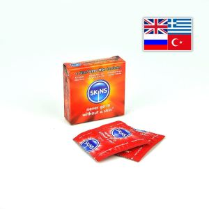 Skins Condoms Ultra Thin 4 Pack International 1