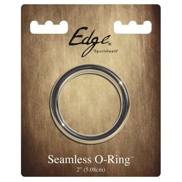 "Edge Seamless 2"" O-ring Metal"