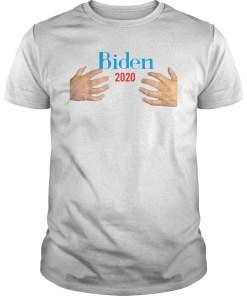 Hands Hugs Joe Biden 2020 Funny Election Classic T-Shirt