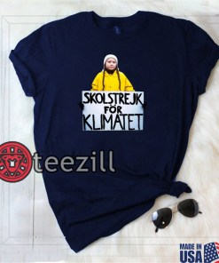 Greta Thunberg - skolstrejk för klimatet Greta T-Shirt