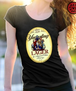 Horror character movie Since 1829 Yuengling Lager by America's oldest brewery halloween shirt
