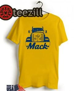 MACK TRUCK SHIRT KHALIL MACK - CHICAGO BEARS T SHIRT