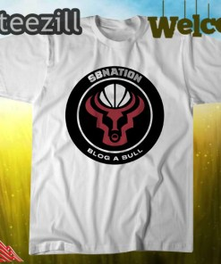 SB Nation's Blog a Bull Logo Shirt