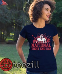 George Kittle National Tight End Day Tees
