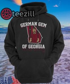 German Gem Of Georgia Julian Gressel Tshirt Hoodis