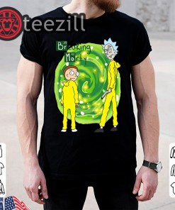 Rick and Morty Water Reflection Mirror Breaking bad Tee Unisex Shirt