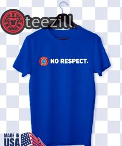 Nazi Salutes No Respect TShirt