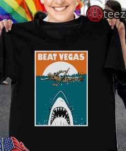 Beat Vegas Shirt - San Jose Hockey Tshirt