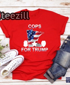 Minneapolis police union releases 'Cops for Trump' T-shirt