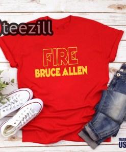 FIRE BRUCE ALLEN SHIRT Washington Redskins fire bruce allen washington redskins shirts