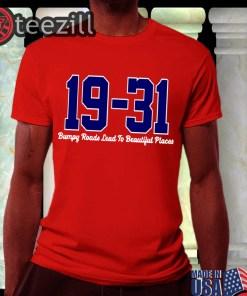 19-31 Washington Tshirt Dave Martinez Nationals