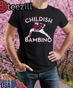 Childish Bambino TShirt Juan Soto Champion