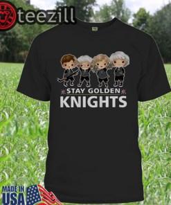 Golden Girls Stay Golden Knights Vegas Shirt