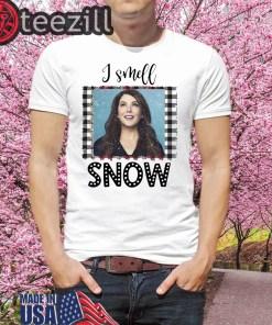 Lauren Graham I Smell Snow TShirt