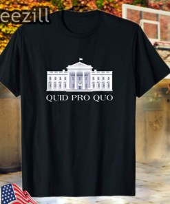 Official Quid Pro Quo (Copyright 2019 FITO) Tee Shirts