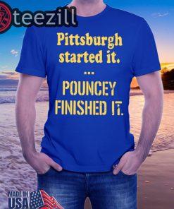 Pittsburgh Started It Shirts Unisex Tshirt