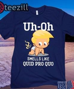 Quid Pro Quo Funny Anti Trump Baby Shirt
