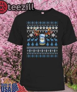 Reinbeer Busch Sweatshirt Reindeer Beer Christmas Shirt Beer Ugly Sweater Xmas Gift