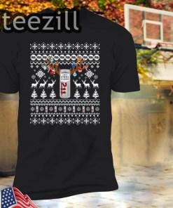 Reinbeer Steel Reserve Sweatshirt Reindeer Beer Christmas Shirt Beer Ugly Sweater Xmas Gift