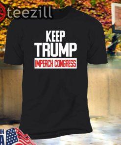 U.S Keep Trump Impeach Congress T-Shirt