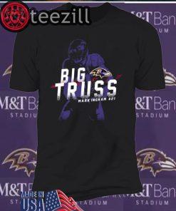 Big Truss Mark Ingram #21 T-Shirt