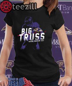 Big Truss Mark Ingram #21 T-Shirts