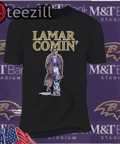 Comin' BAL Lamar Comin 8 Classic Shirts