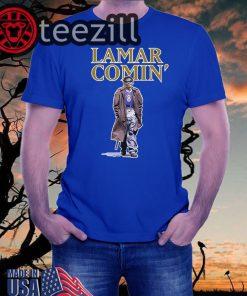 Lamar Comin Shirt Lamar Comin 8 T-Shirt