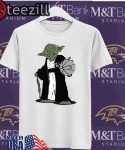 Master Yoda Brooklyn Nets White TShirt