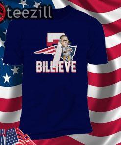 New England Patriots 7 Billieve vs Buffalo Bills Shirts