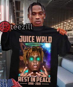 Rip Juice Wrld Rest In Peace 1998-2019 TShirt