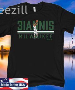 3IANNIS Shirt - Milwaukee Basketball TShirt