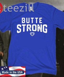 'Butte Strong' Shirt Aaron Rodgers Green Bay Packers T-shirt