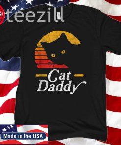 Cat Daddy Vintage Eighties Style Cat Retro T-Shirt
