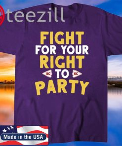 Kansas City Fight For Your Right Shirt