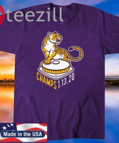 LSU Tiger Champion's 1- 13 - 2020 Shirt