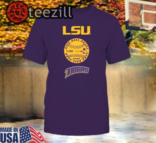 LSU Tigers Softball - Rise Ball Ready Logo Shirt