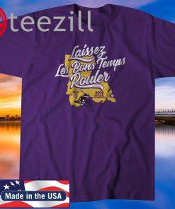 Laissez Les Bons Temps Rouler Shirt – LSU Licensed 2020 T-Shirt
