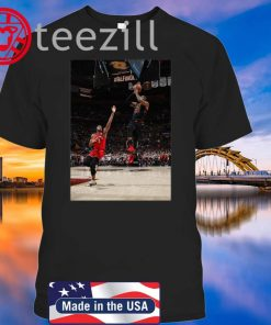 LeBron Hitting Game-Winner Over OG Anunoby Shirt