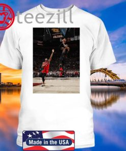 LeBron Hitting Game-Winner Over OG Anunoby Shirts