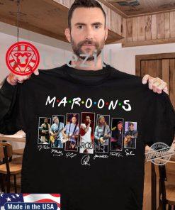 Maroons 5 Signatures Shirts
