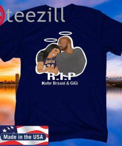 Rip Gigi And Kobe Father and Daughter Shirt