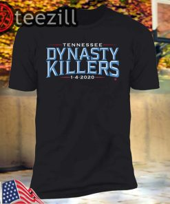 Tennessee football fans need this Dynasty Killers T-shirts